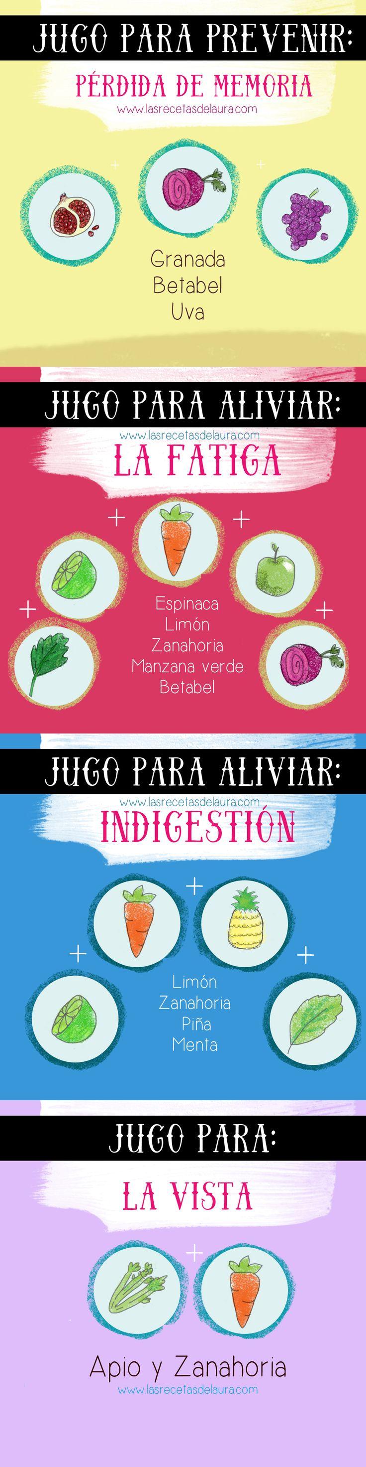 Remedios naturales: jugos saludables y nutritivos para el desayuno que ayudan a aliviar ciertos problemas!