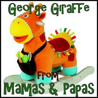Mamas & Papas Giraffe Rocking Animal Review Baby