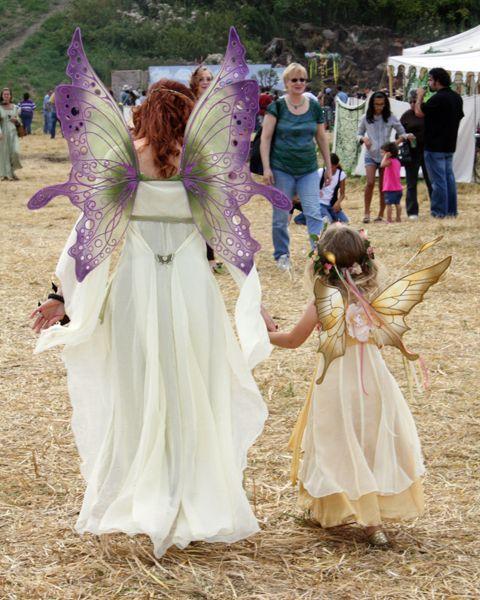 Ariel and Mini Crystal fairy wings from On Gossamer Wings  www.fairy-wings.com/