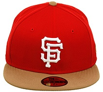San Francisco Giants Hat (49er Colors)