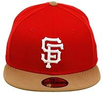 San Francisco Giants Hat (49er Colors)