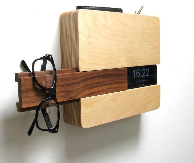 iPhone Charging Station And Comfortable Shelf In One | DigsDigs