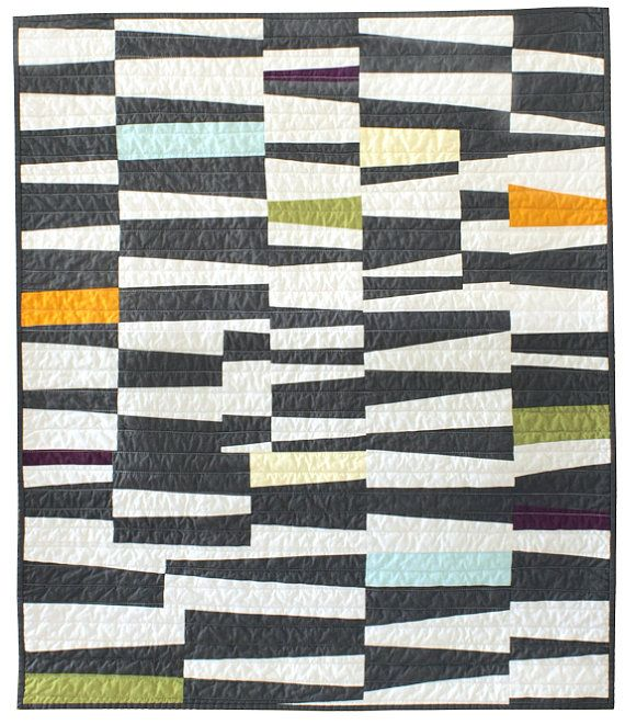 Quilts Made Modern by Barbara Perrino :: cones  Fabulous colorway!