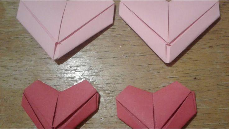 Coração Origami  _ Decoração