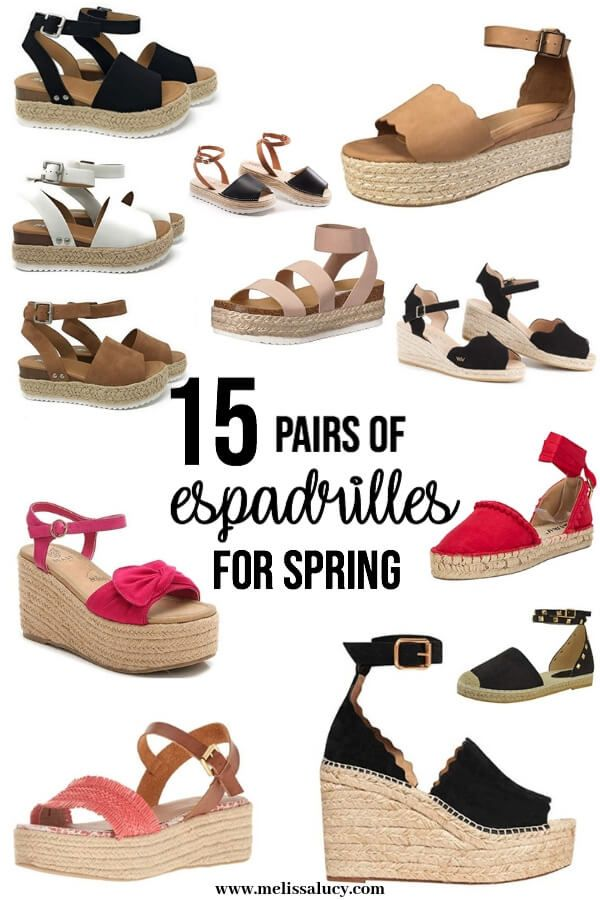 15 Pairs of Espadrilles for Spring