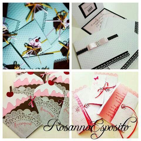 Partecipazioni personalizzate...handmade with love!!