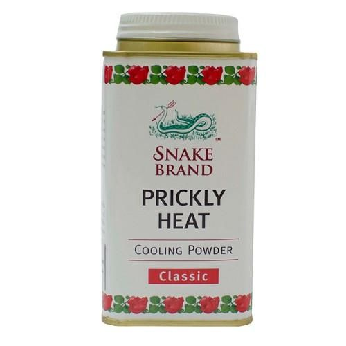 Prickly Heat Cooling Powder Snake Brand : Classic