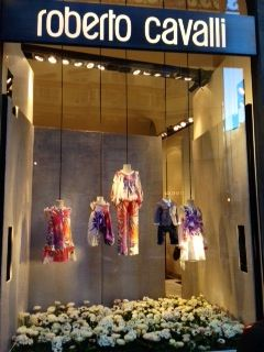 The Roberto Cavalli Childrenswear Boutique in Florence!