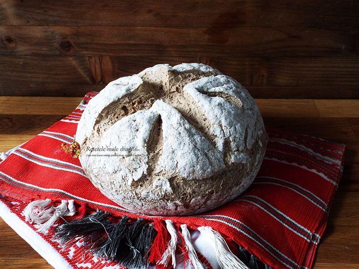 N-am putut sa nu va arat repede aceasta paine traditionala cu cartofi fara gluten! Practic, am asteptat cu sufletul la