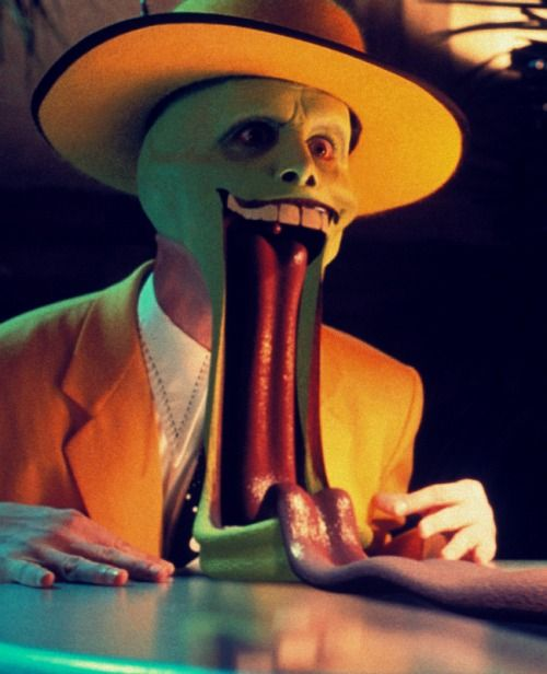 "Jim Carrey in ""The Mask"""