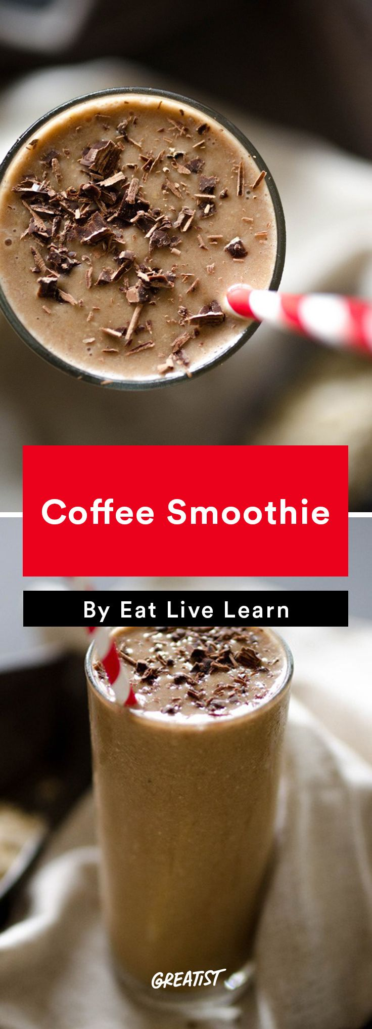 5. Coffee Smoothie #easy #coffee #recipes http://greatist.com/eat/coffee-recipes-that-use-your-leftover-cup