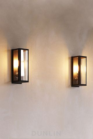 Outdoor Lights Australia: Mercer Outdoor Weathered Brass Wall Light, Narrow,Lighting