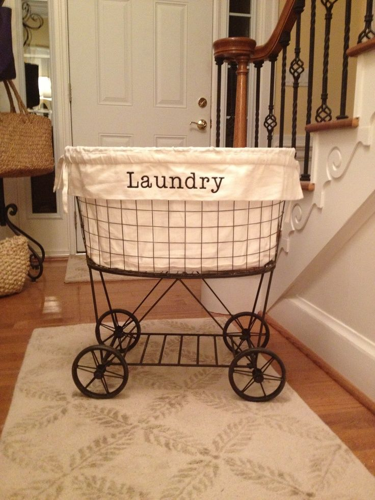 17 best laundry room images on pinterest bathrooms home for Pottery barn laundry room