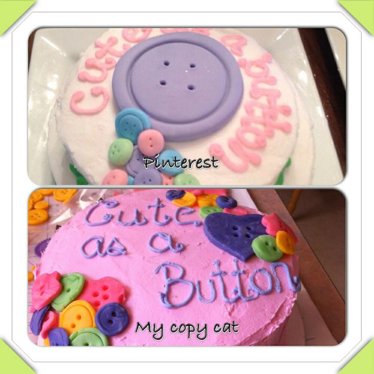 Buttercream and choc mold. Again I don't really like to use fondant.