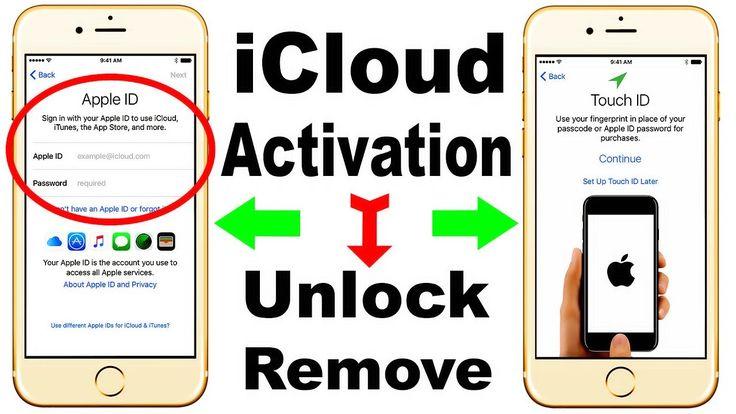 how to unlock/remove/delete iCloud Activation iPhone/iPad