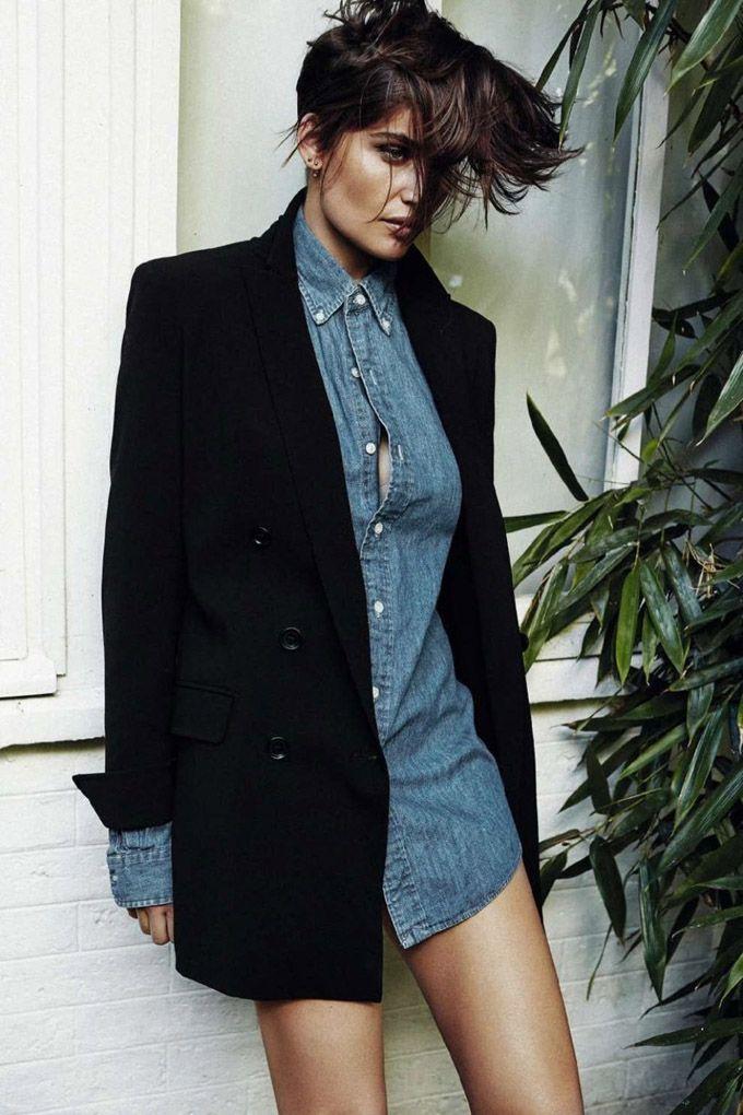 Летиция Каста в Harper's Bazaar Spain