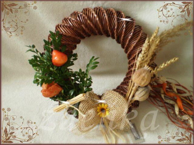 ✿ podzimní věnec ✿
