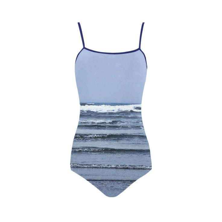Stairway to the Sea Strap Swimsuit.