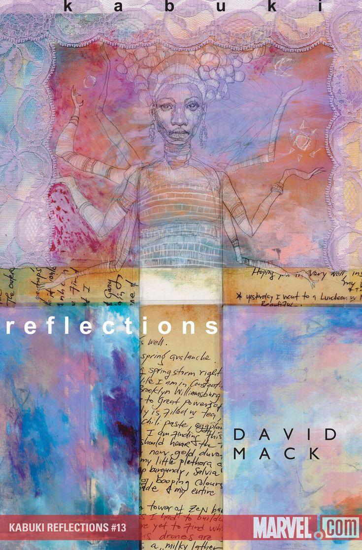 Kabuki Reflections #13 Covers By David Mack