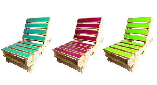 love these pallet chairs... another project to do with the brother? :)