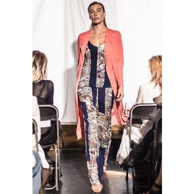 Stylein - Lee Silk Pants Print - Kotyr.com