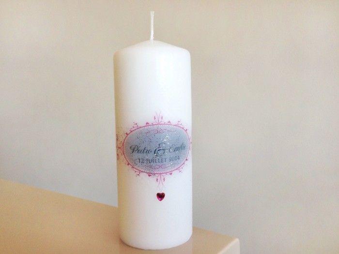 Personaliza tus velas para la boda - bodas.com.mx