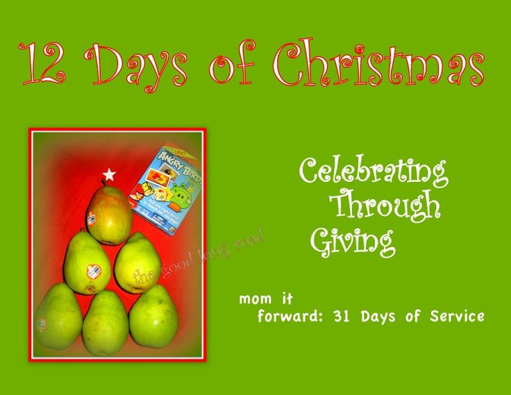 12 Days Of Christmas Party Ideas Part - 46: 12 Days Of Christmas, This Had Some Decent Ideas