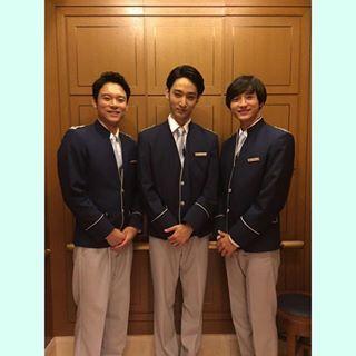 ほんと満面の笑み #小関裕太#KosekiYuta#YutaKoseki #TBS#ホテルコンシェルジュ#Twitter #湯浅景介#上杉柊平#小関裕太#ベルボーイ