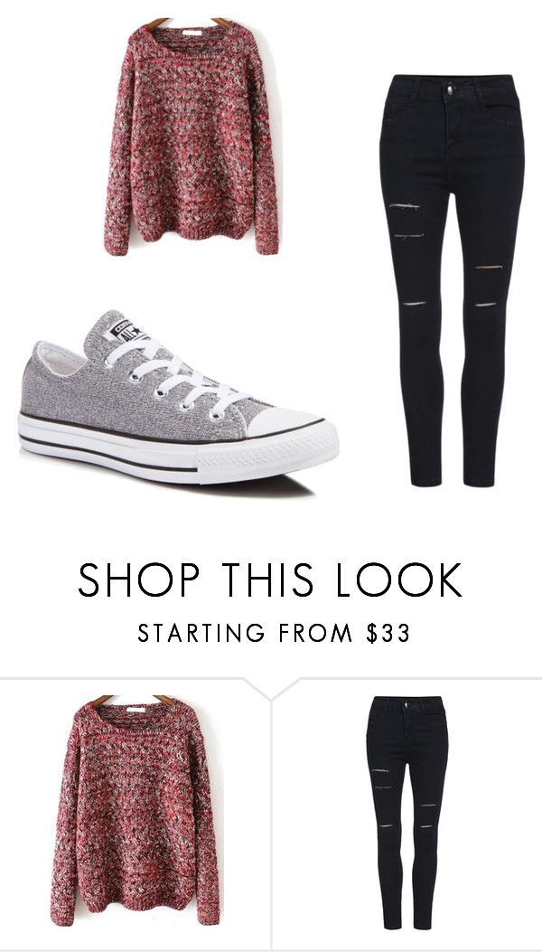"""Untitled #146"" by sierrapalmer10 on Polyvore featuring Converse"