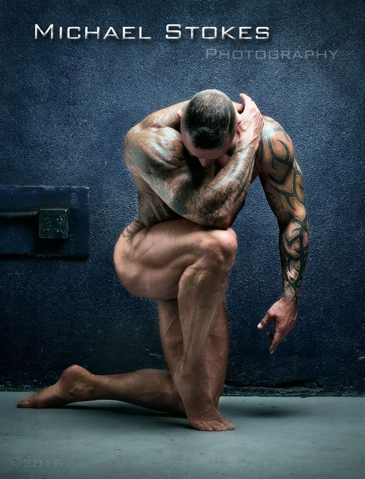 "michaelstokes: "" Figure Study - Scott King """