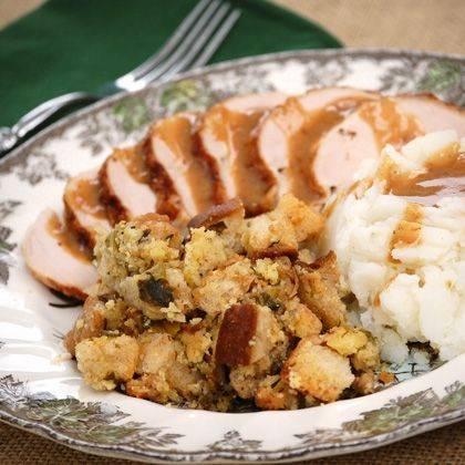 Sage and Sausage Stuffing - Holiday Side Dish