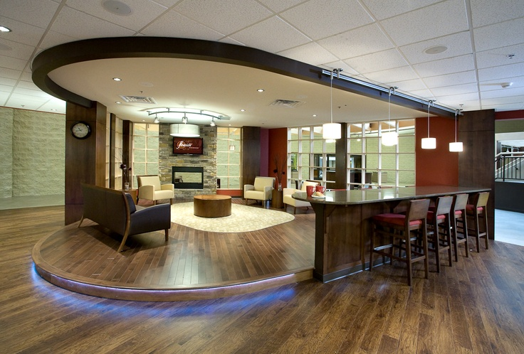 Lobby Foyer Area : Enjoy your coffee here cafe church springfield il