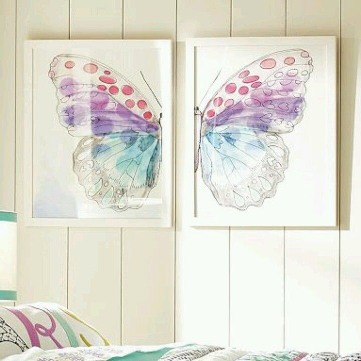 Maybe someday, I can do something like this for Kaitlyn's room.  I can only dream.