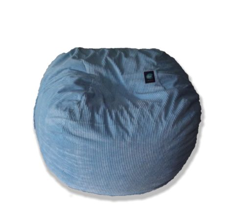 Corduroy Adult-Size Sky-Blue Beanbag – TheBeanBag