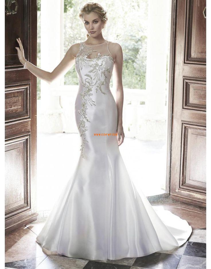 Hala Styl trumpeta / Mořská panna Svatební šaty s bolerkem Svatební šaty 2015