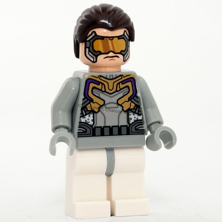 Genuine LEGO SUPEREROI Cyborg minifigura portachiavi