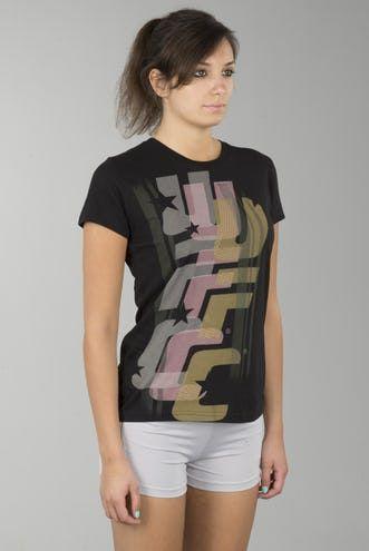 T-Shirt Dam UFC Camo-Svart