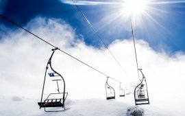 Ropeway Ski Resort In Winter Snow Mountain HD & Widescreen Nature & Landscape Wallpaper from the above resolutions. If you don't find the exact resolution you are looking for, then go for 'Original' or higher resolution which may fits perfect to your desktop.
