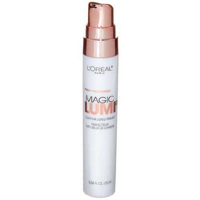 A brightening primer, like this one from L'Oreal Paries, will help bring out your skin's natural glow.