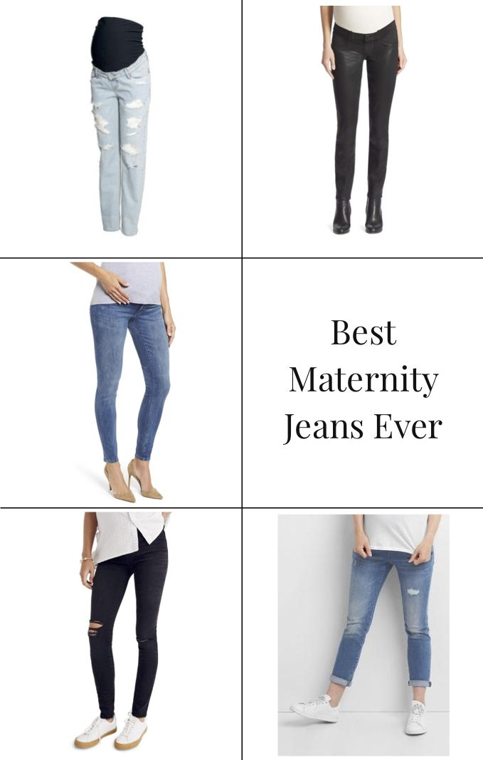 7f412ce65006c The BEST Maternity Jeans from the GAP, Madewell, Paige Denim, H&M, + more!