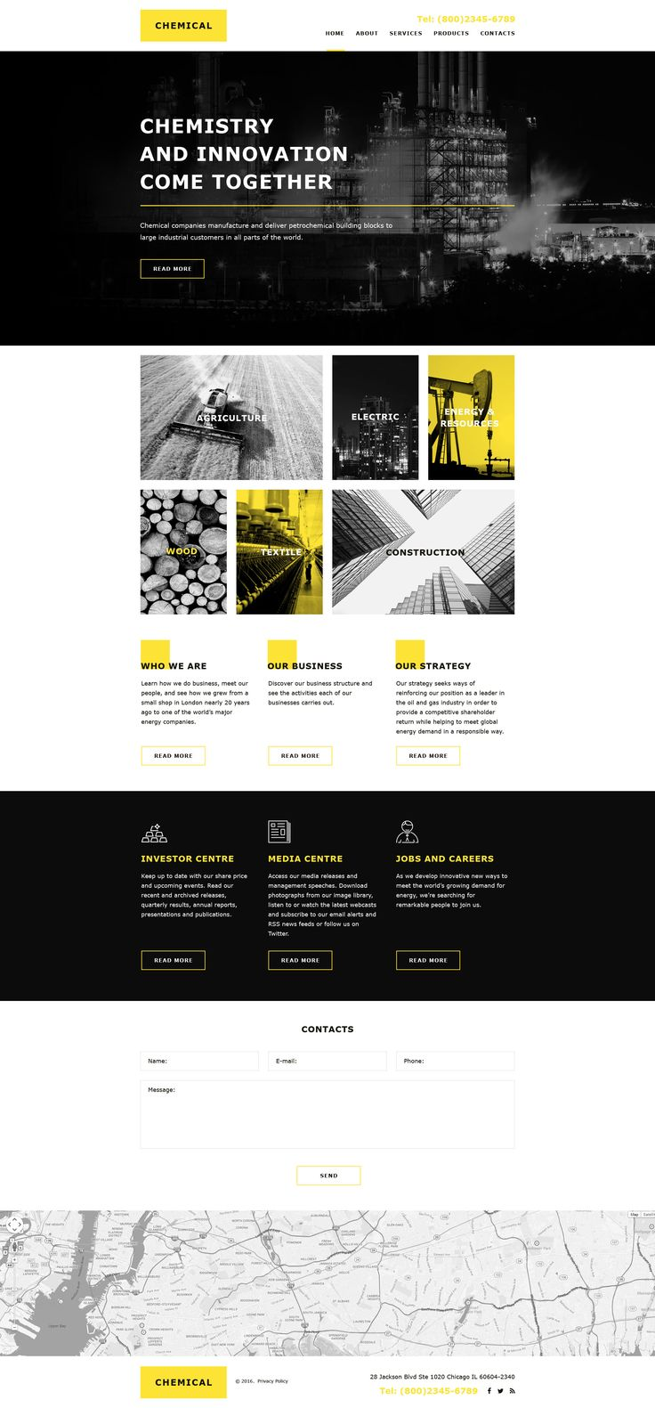 Industrial Muse Template #58041
