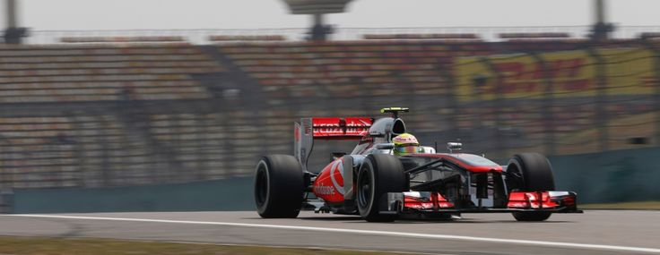 McLaren Formula 1 - 2013 Chinese Grand Prix – Free Practice / Checo Perez