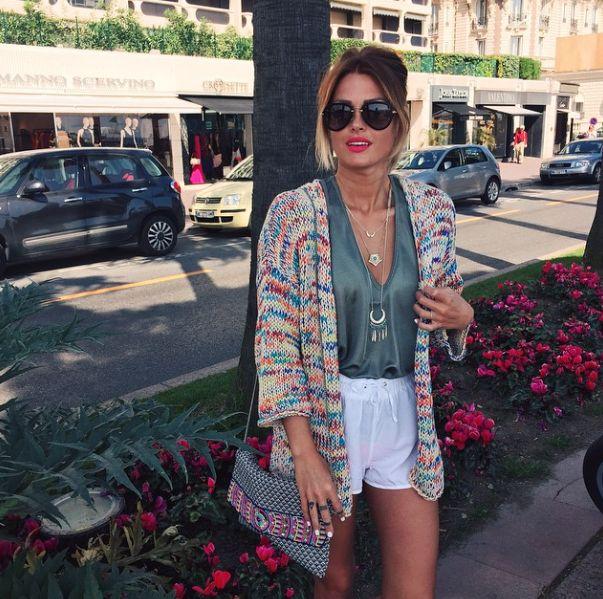 Caroline Receveur / 27 avril 2015OUTFITS