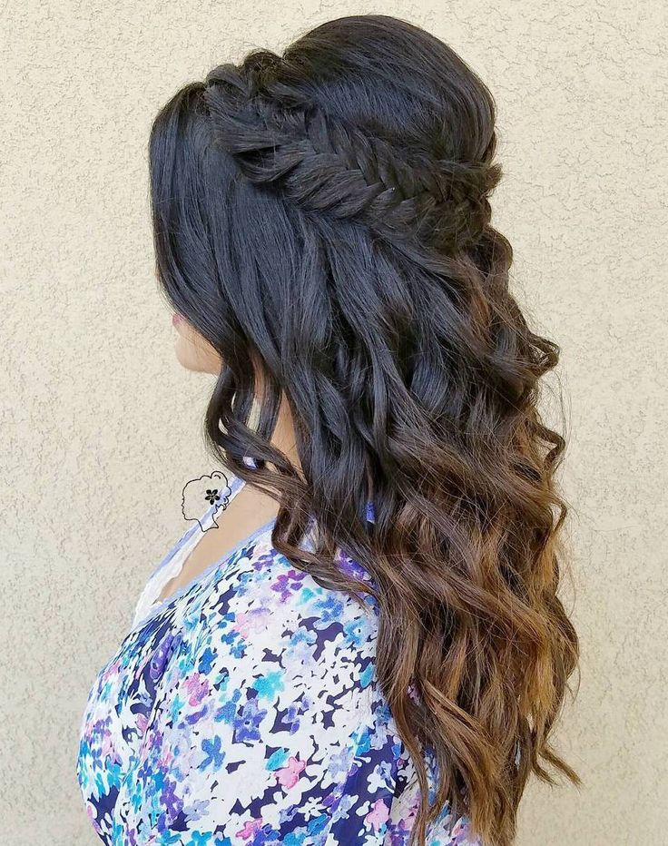 31 Gorgeous Half Up Half Down Hairstyles Page 24 Of 36
