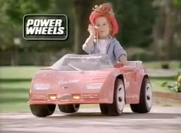 Power. Wheels. Barbie. Car. | 55 Toys And Games That Will Make '90s Girls Super Nostalgic