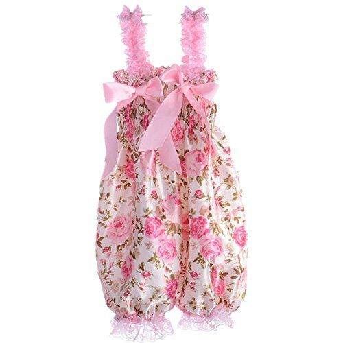 Fairy Season Baby Girl Lace Petti Ruffle Rompers Newborn
