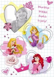 Hiep hiep hoera! Vrolijke verjaardagskaart met echte disney prinsessen! #Hallmark #HallmarkNL #happybirthday #verjaardag #kaart #birthday #jarig #party #bday