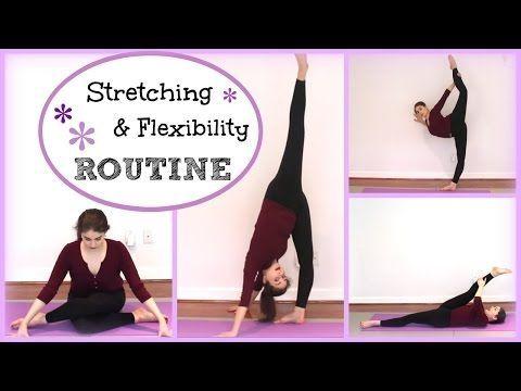 Stretching & Flexibility Routine   Kathryn Morgan - YouTube