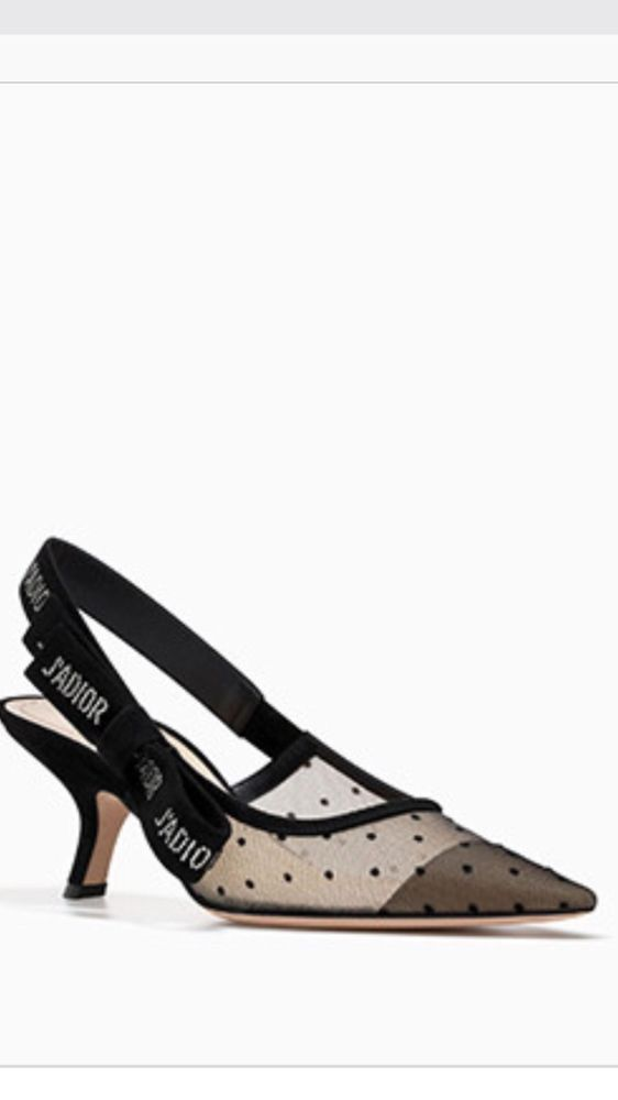 f3e70e1c22d343 Christian Dior J adior Nude Mesh Kitten Heel Shoes 38. Find this Pin and  more on Designer Heels ...