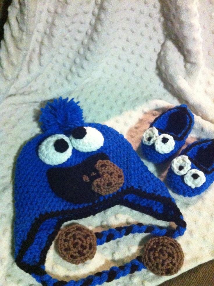 Free Pattern Crochet Monster Slippers American Go Association